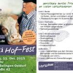 Neue Hoffest Flyer
