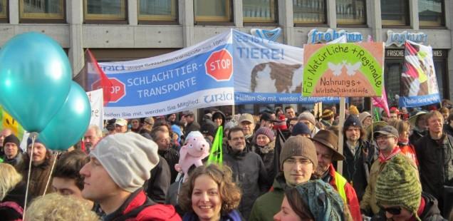 """Aufruf zur Groß-Demo in Berlin """"WIR HABEN AGRAR- INDUSTRIE SATT!"""""""