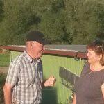 Martina Braun zu Besuch bei Uria