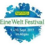 Rapunzel Eine Welt Festival am 9.+10. Sept. 2017 im Allgäu