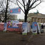"""URIA erfolgreich bei DEMO """"wir haben es satt"""" in Berlin 2018"""