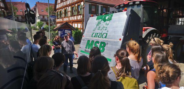 Lehrfahrt Hochschule für Forstwirtschaft in Rottenburg am 8.Mai.2018