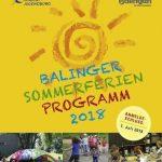 Sommerferienprogramm der Stadt Balingen 2018