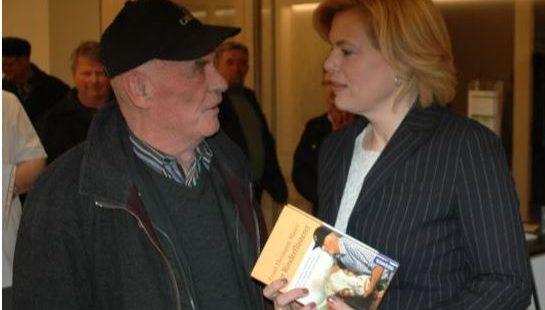 Ernst Hermann Maier     trifft Bundesland-             wirtschaftsministerin       Julia Klöckner